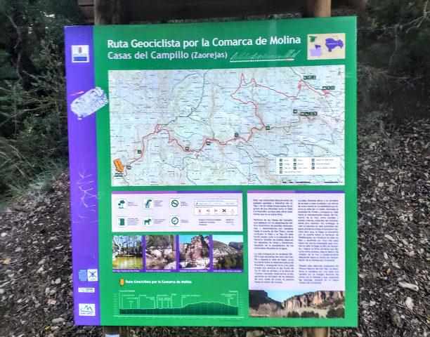 Ruta Geociclista por la Comarca de Molina