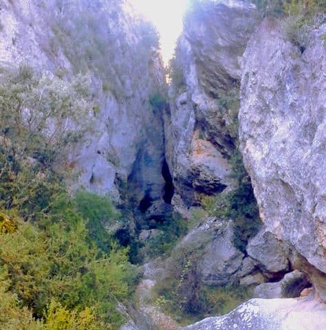 Barranco de la Hoz de Oter