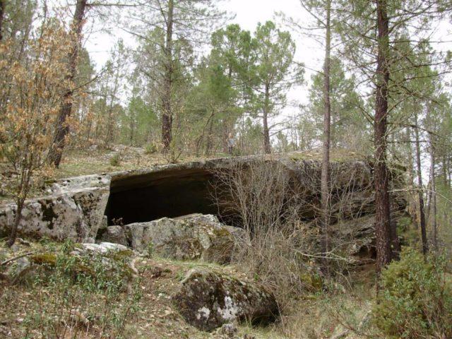 Ruta de Canales de Molina a Peña Escrita