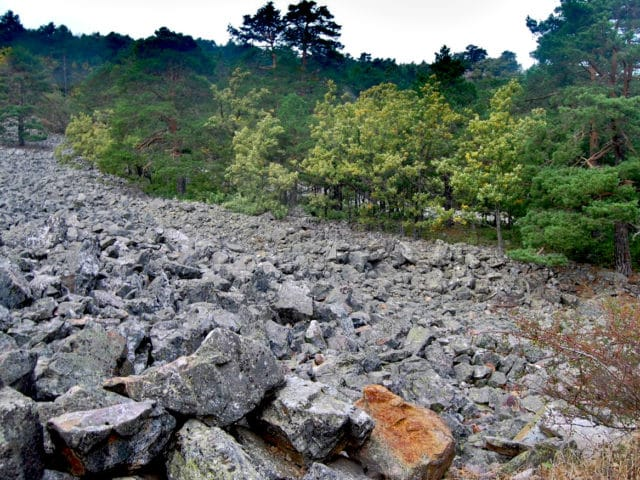 Río de Piedras de Orea